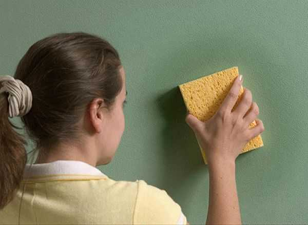 Как отмыть пятно на стене фото